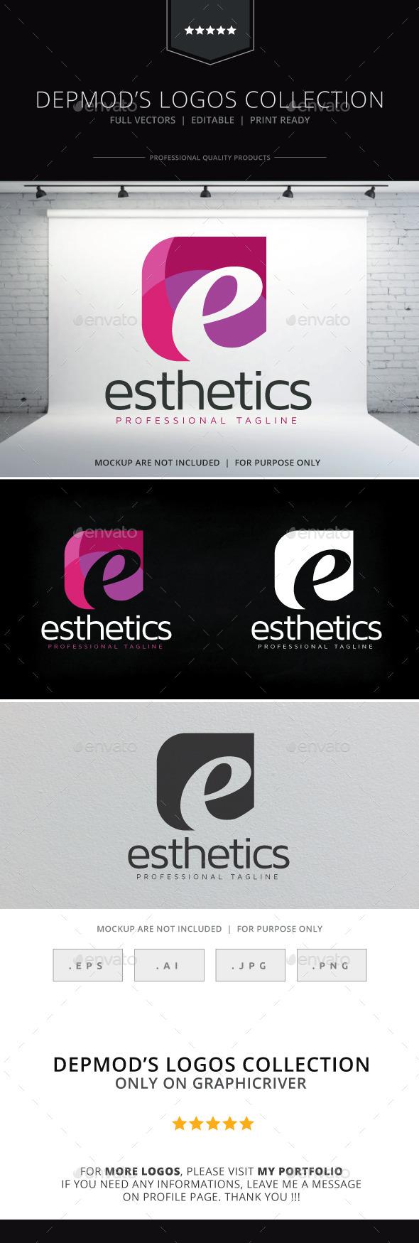 GraphicRiver Esthetics Logo 10377154