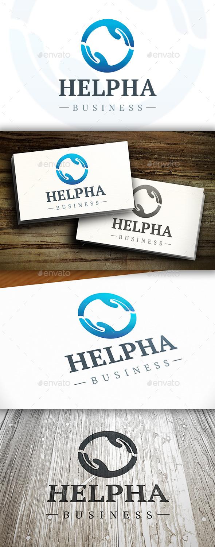 GraphicRiver Help Hand Logo 10378027