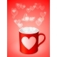Cup with Hearts - GraphicRiver Item for Sale