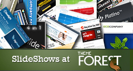 SlideShows at ThemeForest