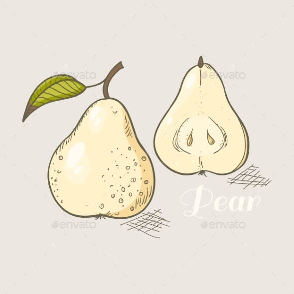 GraphicRiver Yellow Pear 10378620
