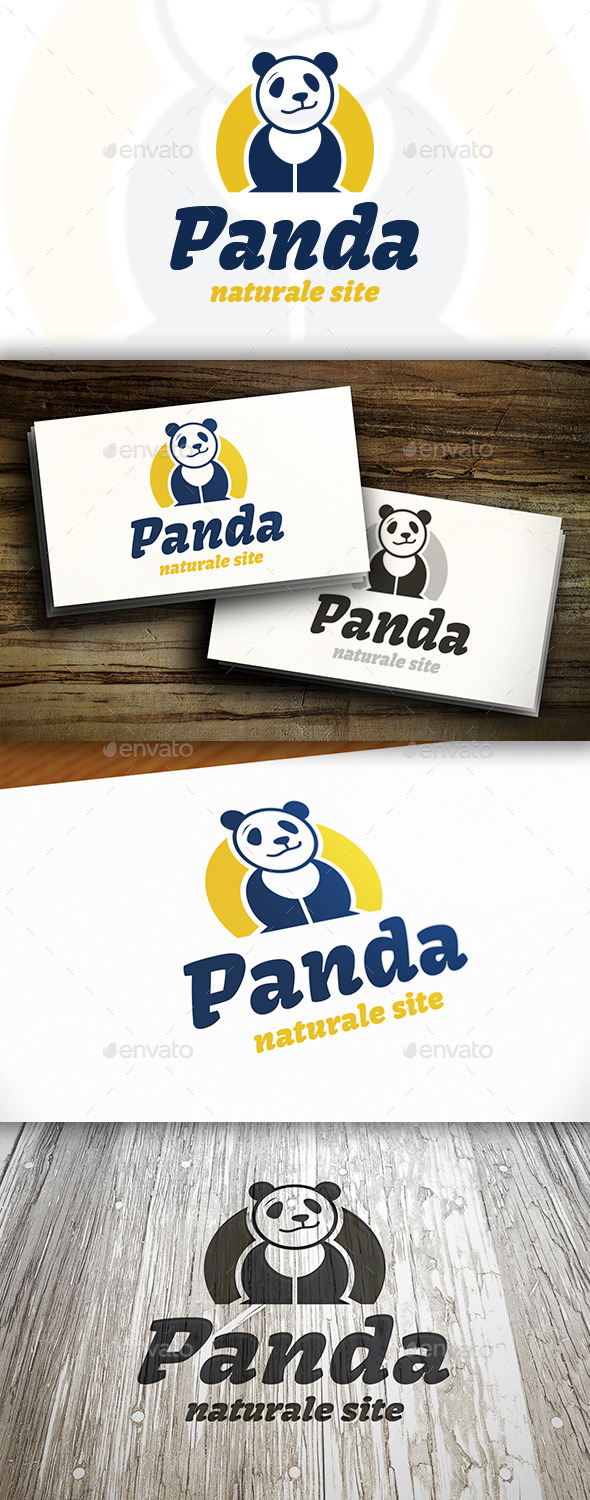 GraphicRiver Panda Logo Template 10378668