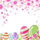 Easter Background with Eggs - GraphicRiver Item for Sale