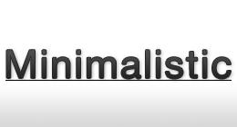Minimailistic Design