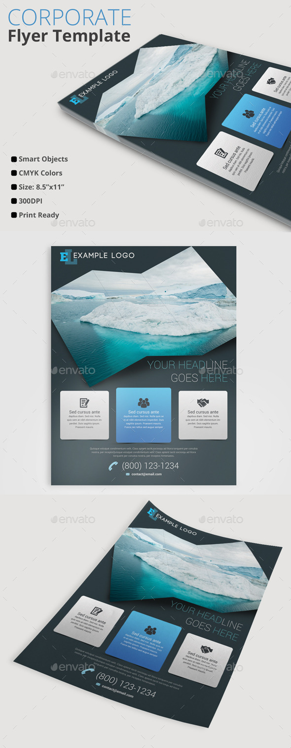 GraphicRiver Corporate Business Flyer 10379142