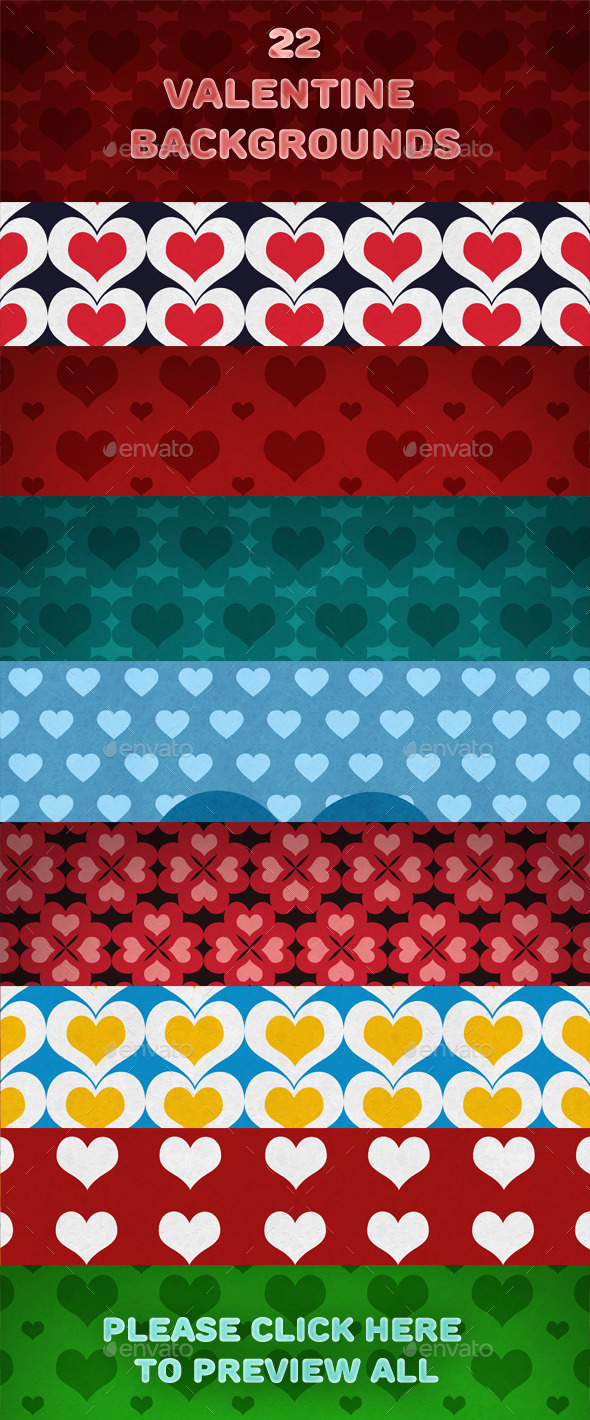 22 Valentine backgrounds