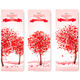 Holiday Retro Banners Valentine Trees - GraphicRiver Item for Sale