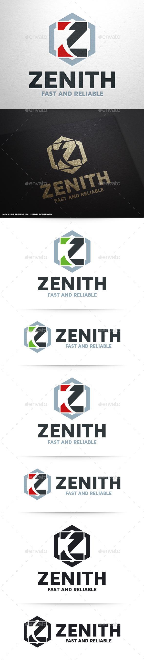 GraphicRiver Zenith Letter Z Logo 10379616