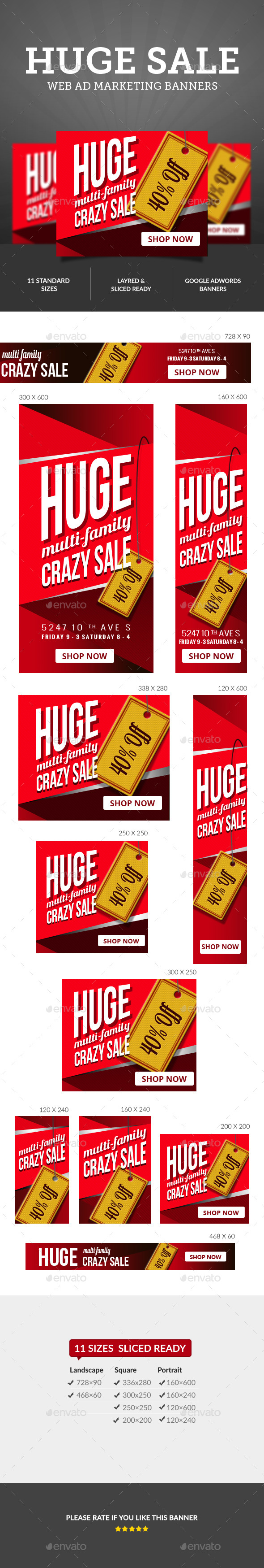 GraphicRiver Sale Ad Banners 10379649