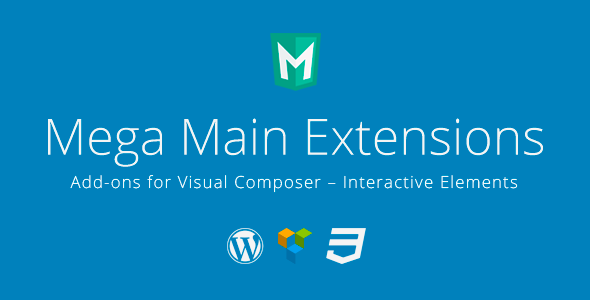 CodeCanyon Mega Main Extensions Addons for Visual Composer 10379744
