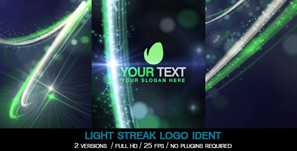 Light Streak Logo Ident