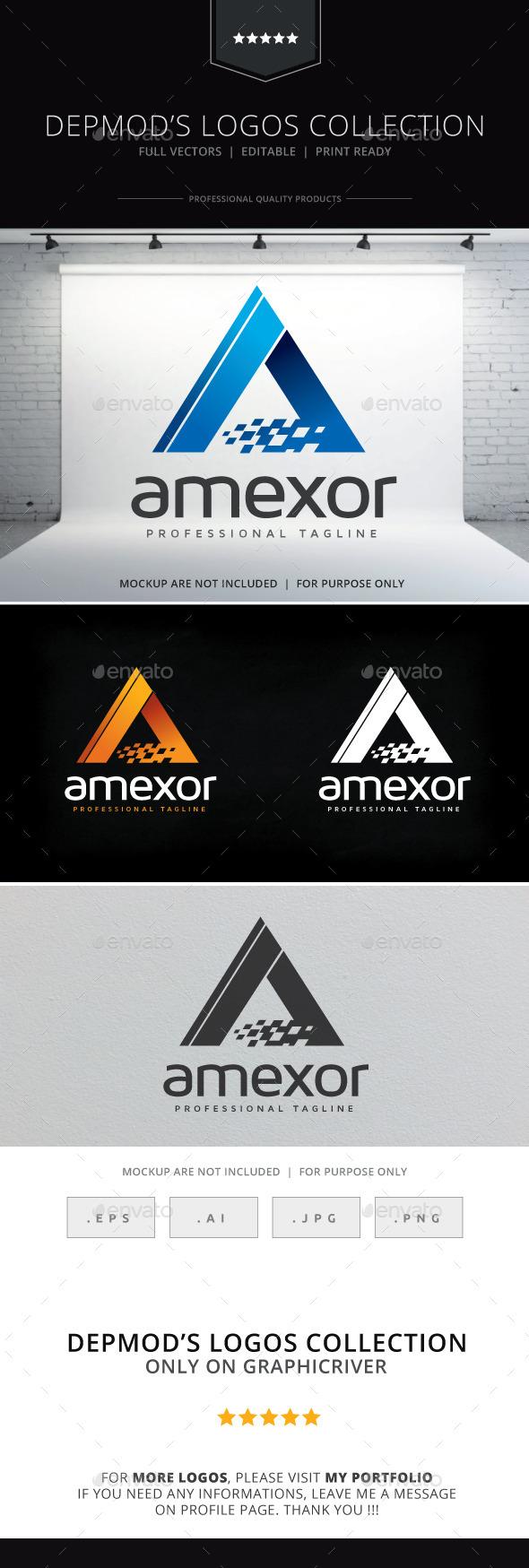 GraphicRiver Amexor Logo 10379915