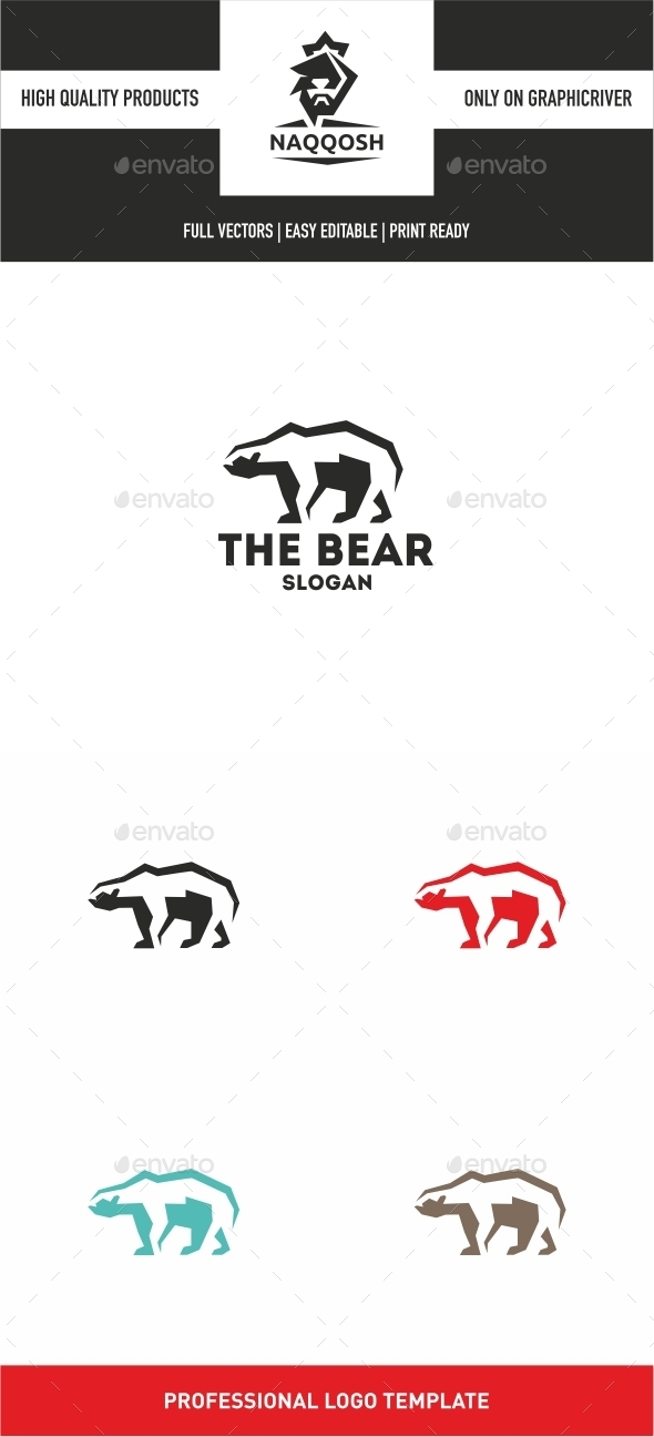 GraphicRiver The Bear 10380051
