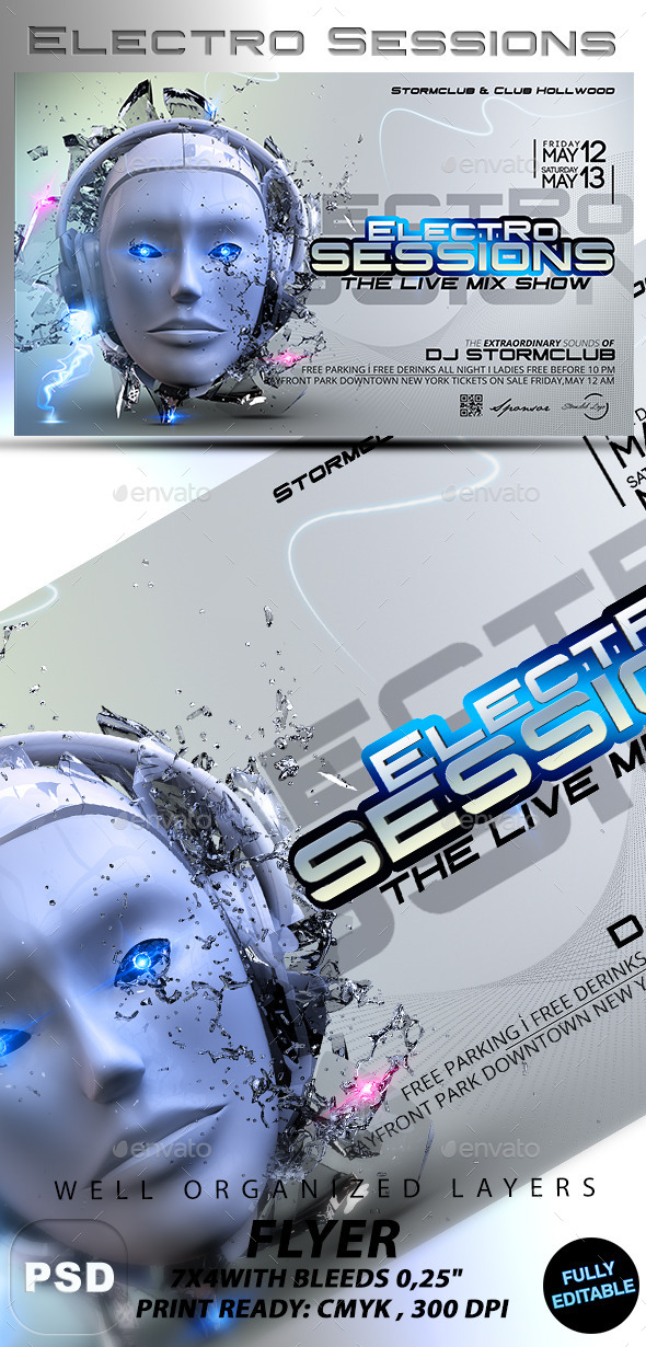 GraphicRiver Electro Sessions 10380054