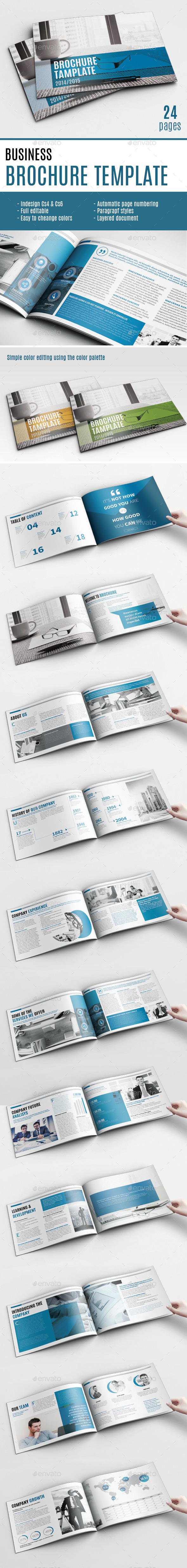 GraphicRiver Multipurpose Brochure Template 10339728