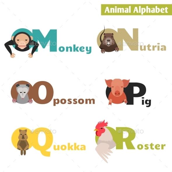 GraphicRiver Animal Alphabet 10380065