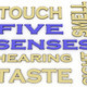 3d image Five senses  issues concept word cloud background - PhotoDune Item for Sale