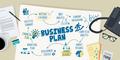 Flat Design Illustration Concept for Business Plan - PhotoDune Item for Sale
