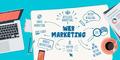Flat Design Illustration Concept for Web Marketing - PhotoDune Item for Sale
