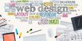 Flat Design Illustration Concept for Web Design - PhotoDune Item for Sale