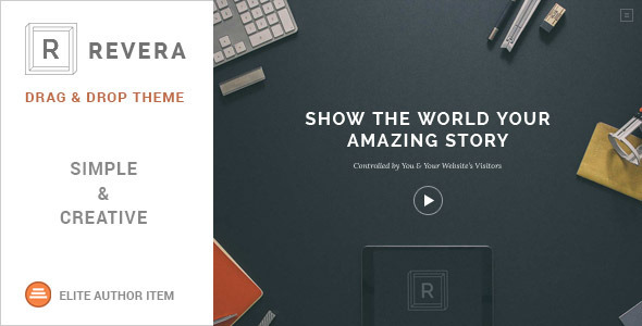 Revera - Simple and Creative Portfolio WP Theme