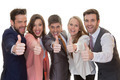 business team group with thumbs up - PhotoDune Item for Sale
