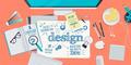 Flat Design Illustration Concept for Design Process - PhotoDune Item for Sale