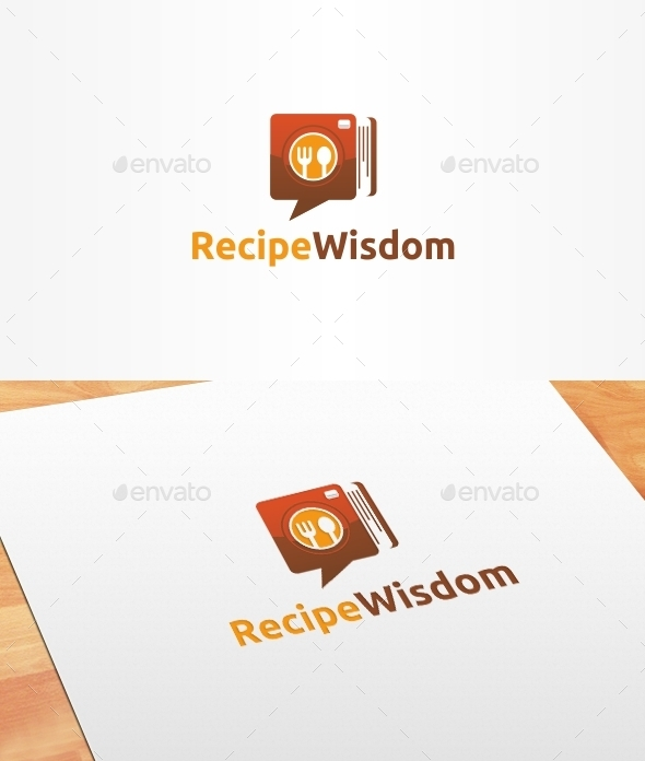 Recipe Wisdom Logo Template