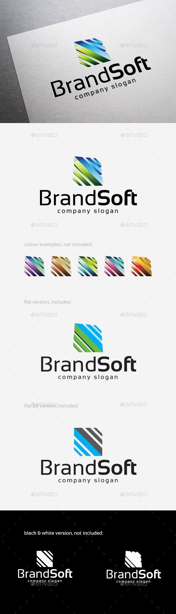 GraphicRiver Brand Soft Logo 10381504