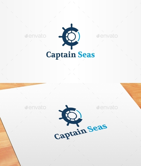 GraphicRiver Captain Seas Logo Template 10381715