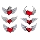 Winged Heart Icons and Tattoos - GraphicRiver Item for Sale