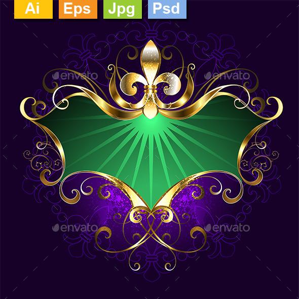 GraphicRiver Banner Mardi Gras 10382494