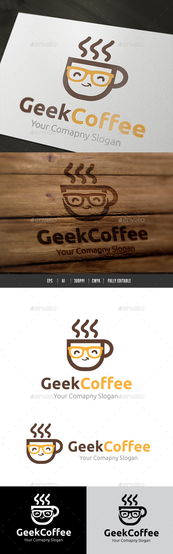 GraphicRiver Geek Coffee 10382518