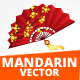 Mandarin Vector Illustration - GraphicRiver Item for Sale