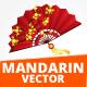 Mandarin Vector Illustration - GraphicRiver Item for Sale