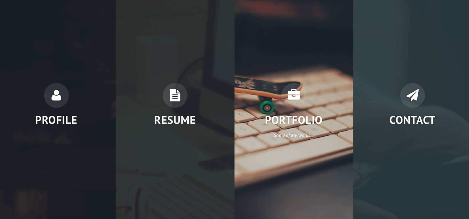 privado interactive resume portfolio template by codetic privado interactive resume portfolio template personal site templates preview preview png preview screenshot 1 jpg