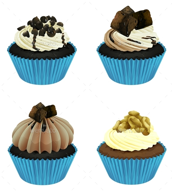GraphicRiver Cupcakes 10382791
