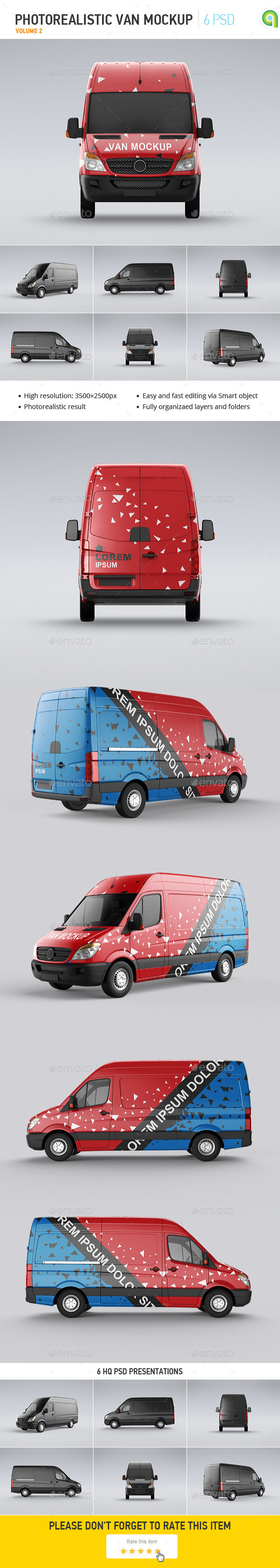 GraphicRiver Van Mock-Up 10383336