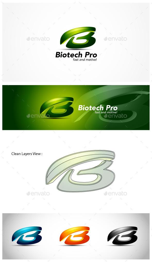 GraphicRiver B Letter Logo 10383443