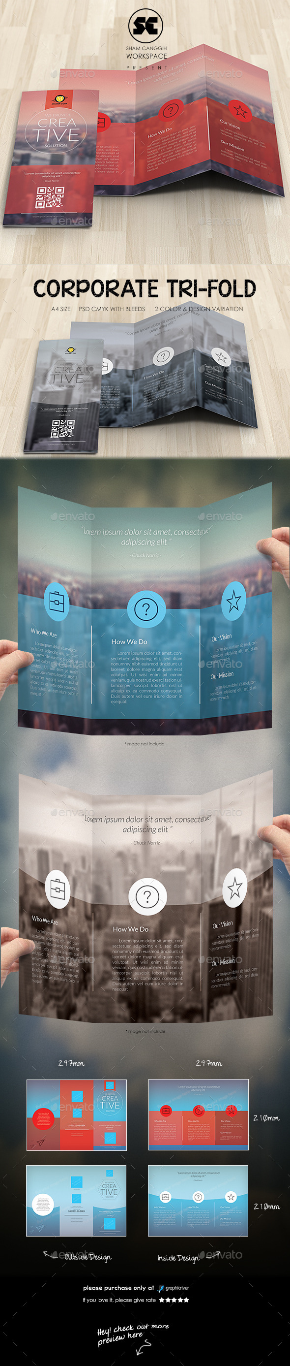 GraphicRiver Creative Corporate Tri-Fold 10384118