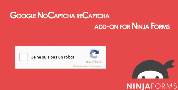 CodeCanyon Ninja Forms Google reCaptcha 10384330