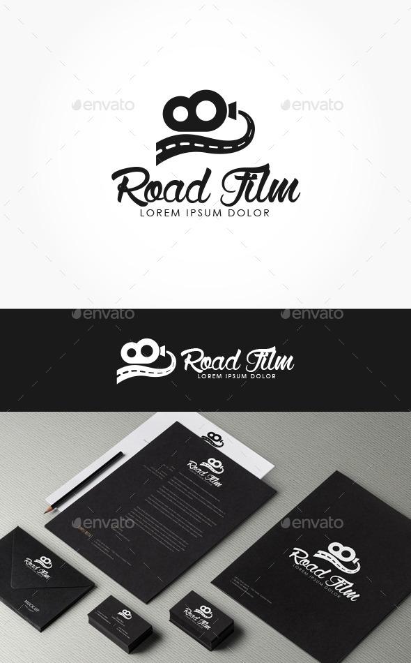 GraphicRiver Road Film Logo 10384495