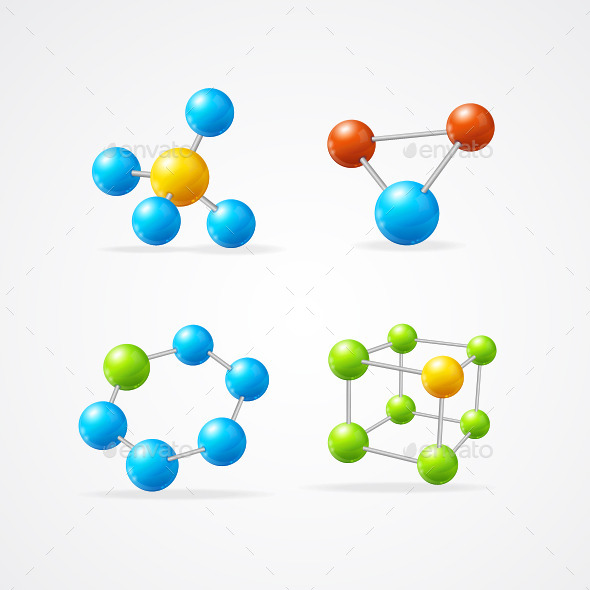 GraphicRiver Molecule Set 10388359