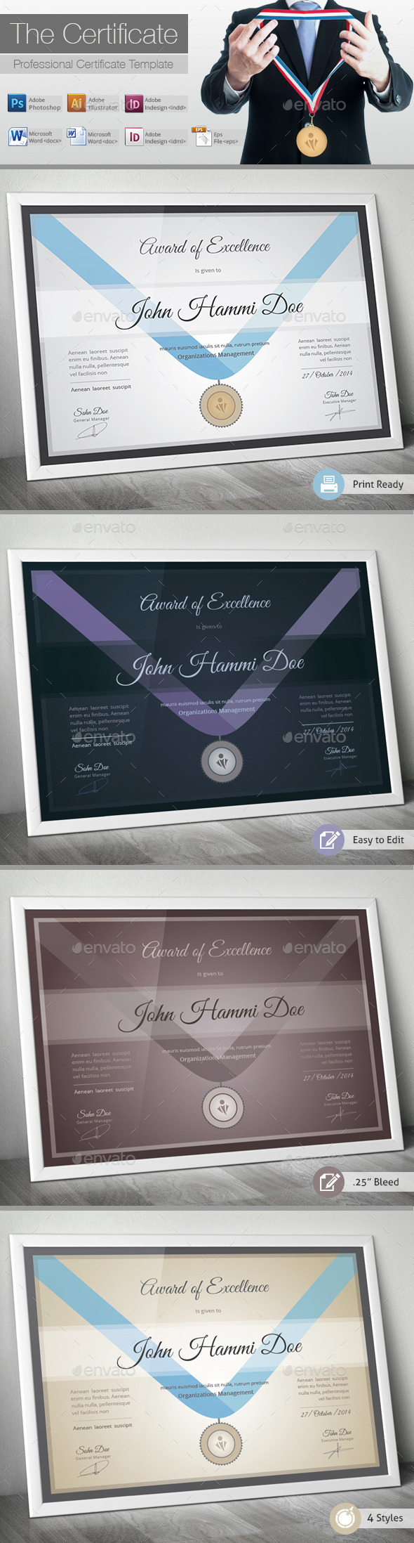GraphicRiver The Certificate 10389123