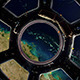 Earth Through Window International Space Station - VideoHive Item for Sale
