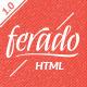 Ferado - Fashion eCommerce HTML5 Template - ThemeForest Item for Sale