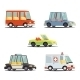 Cartoon Transport Vehicle Icons - GraphicRiver Item for Sale