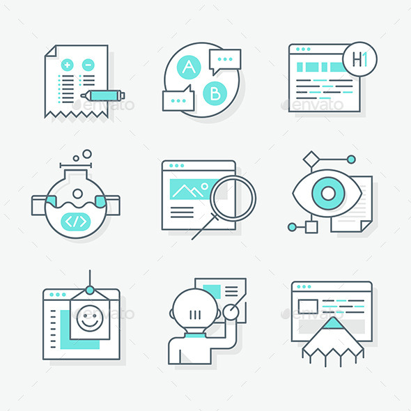 GraphicRiver Website Redesign Icons 10390314
