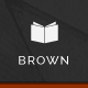 Brown - Responsive WordPress Theme for eBook - ThemeForest Item for Sale