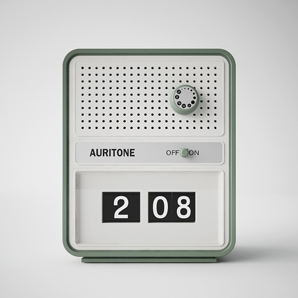 AURITONE VINTAGE RADIO c4d + vray - 3DOcean Item for Sale